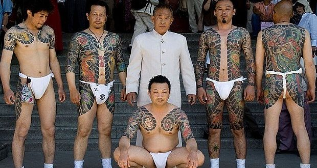 Yakusas Japonais