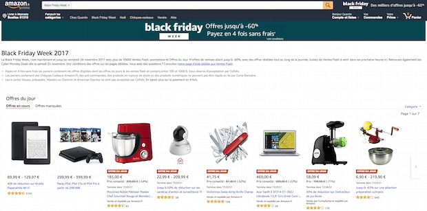 bon plan black friday promo amazon