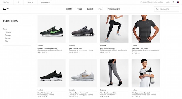 bon plan black friday promo nike