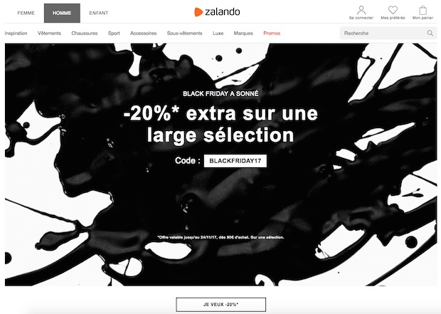 bon plan black friday promo zalando 1