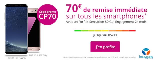 bouygues telecom 70 euros de remise black friday