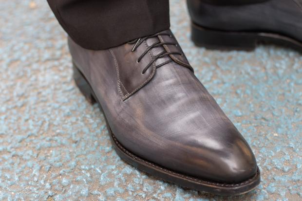 derby les crafteurs test avis achille cuir patine gris 79