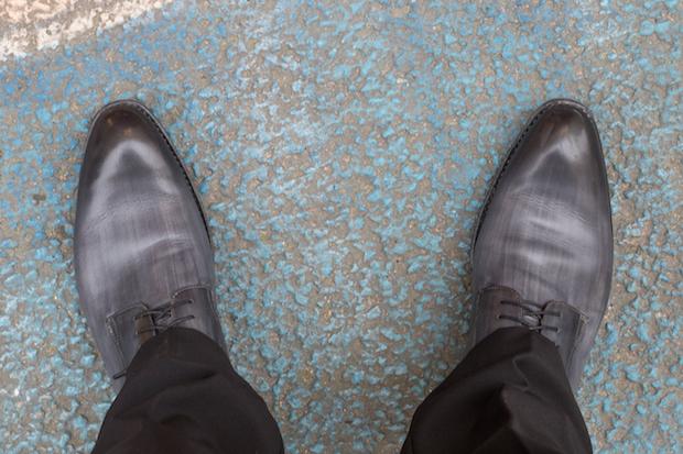 derby les crafteurs test avis achille cuir patine gris 85