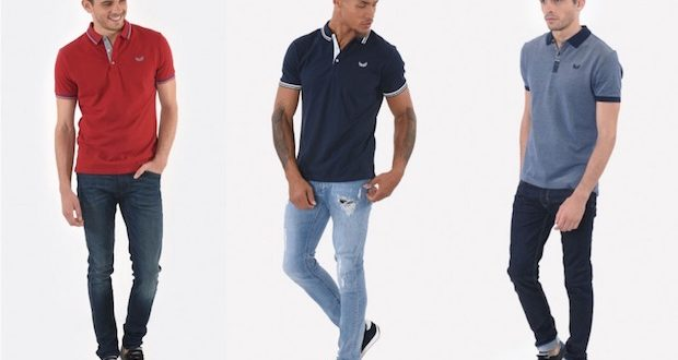 comment porter polo homme