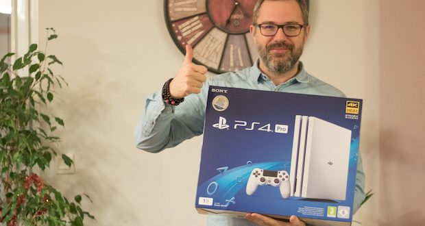 concours ps4 pro playstation gagnez 82