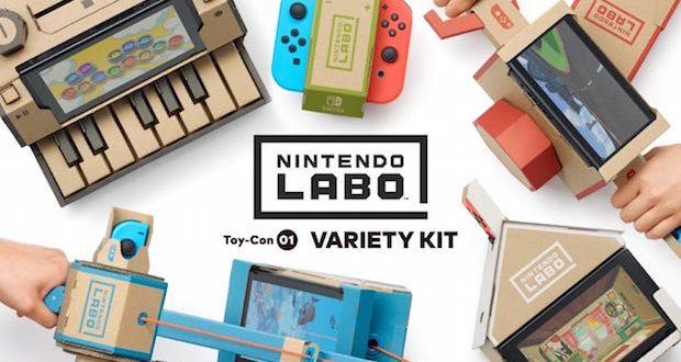 Nintendo labo precommande