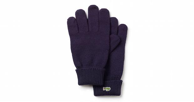 Selection Lacoste hiver homme gants