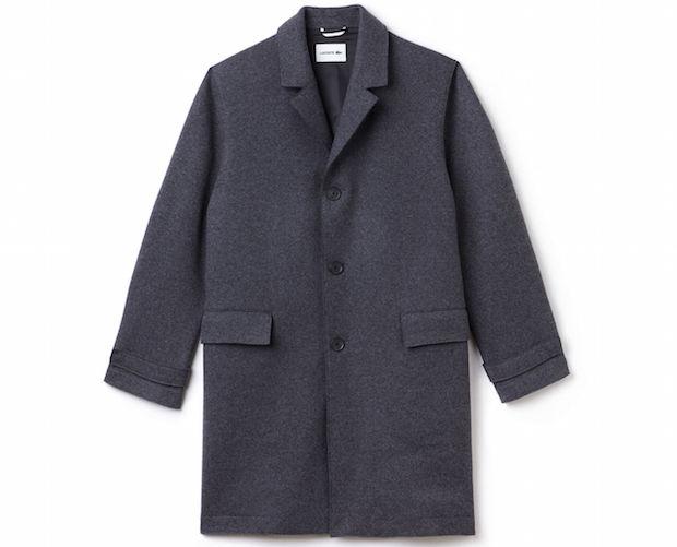 Selection Lacoste hiver homme manteau boutonne