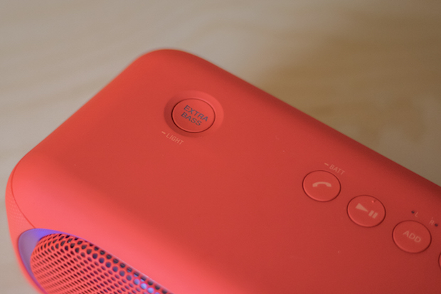 test avis sony xb40 extra bass enceinte bluetooth 5