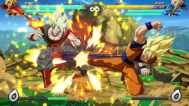 test dragon ball fighterz ps4 san goku
