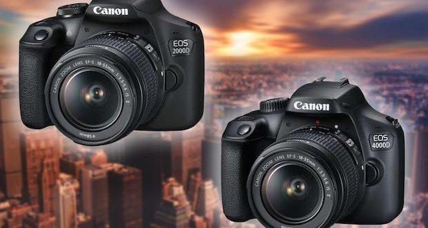 Canon EOS 2000D et 4000D, le savoir-faire Canon accessible