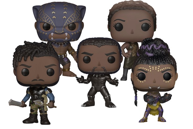 Les figurines Pop du film Black Panther sont dispo !