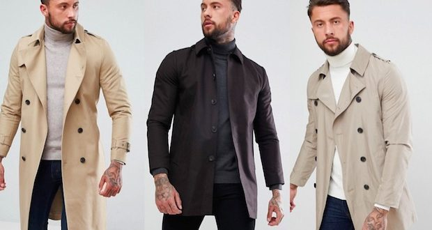 meilleur trench homme asos