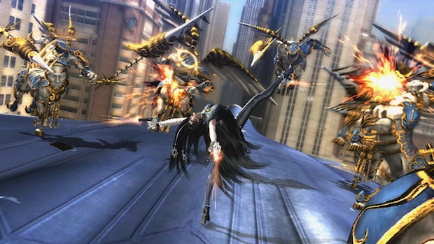 test bayonetta 2 switch nintendo avis blog jeux video beau
