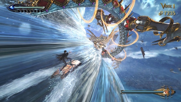 test bayonetta 2 switch nintendo avis blog jeux video spectaculaire