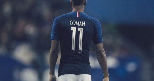 Maillot equipe de France Coupe du Monde 2018 blog lifestyle