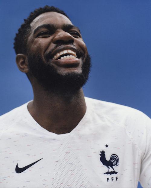 Maillots equipe de France Coupe du Monde 2018 exterieur
