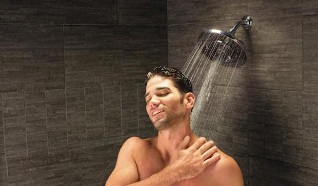 Prendre une bonne douche