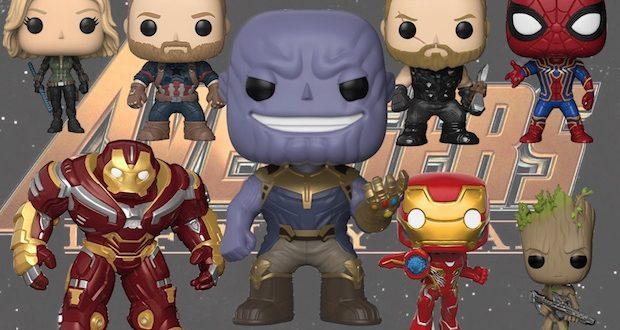 funko pop avengers infinity war 3 figurine