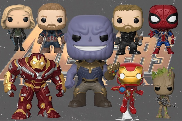 Figurines Funko Pop Avengers « Infinity war » sont disponibles !