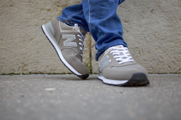 new balance 574 test avis Classic Grey look