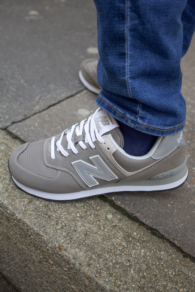 new balance homme test