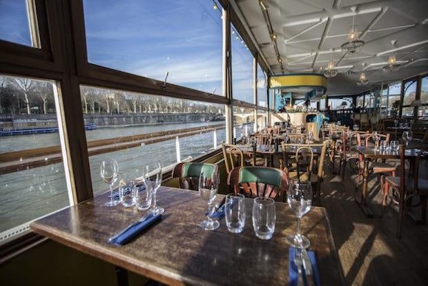 Les plus beaux restaurants sur la Seine Le Bal de la Marine