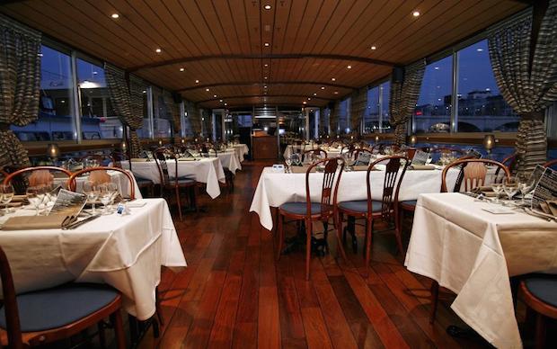 Les plus beaux restaurants sur la Seine marina de paris