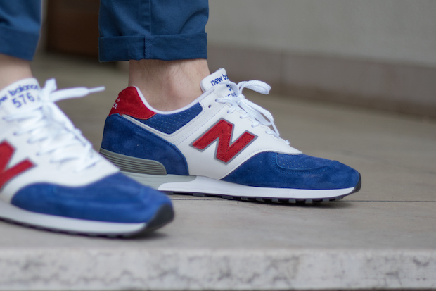 [Test & Avis] New Balance 576 Made in UK Tri Colour Pack