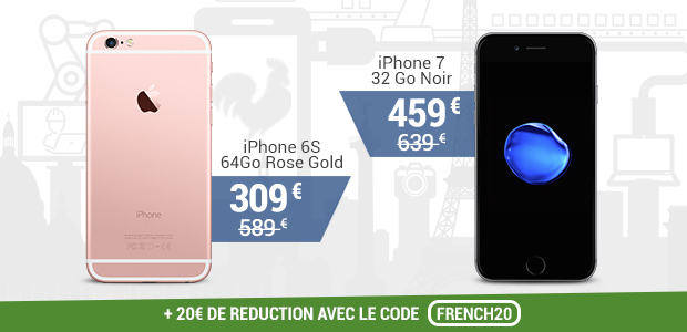 vente du diable french days apple iphone
