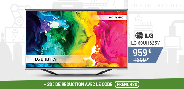 vente du diable french days tele LG