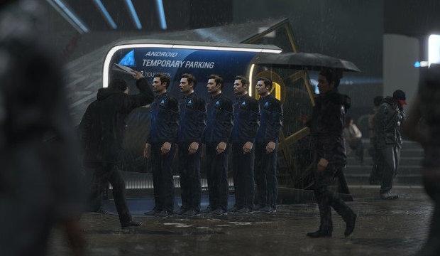 Detroit Become Human test avis critique androide