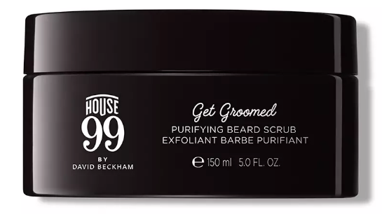 house 99 avis test David Beckham exfoliant barbe