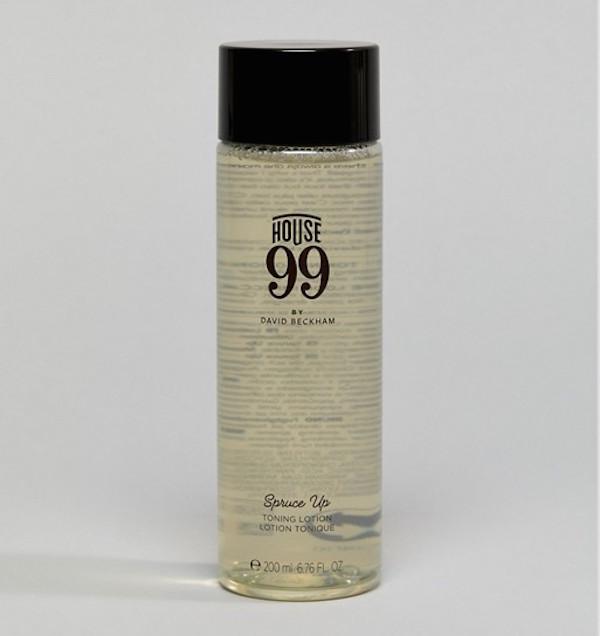house 99 avis test David Beckham lotion tonique