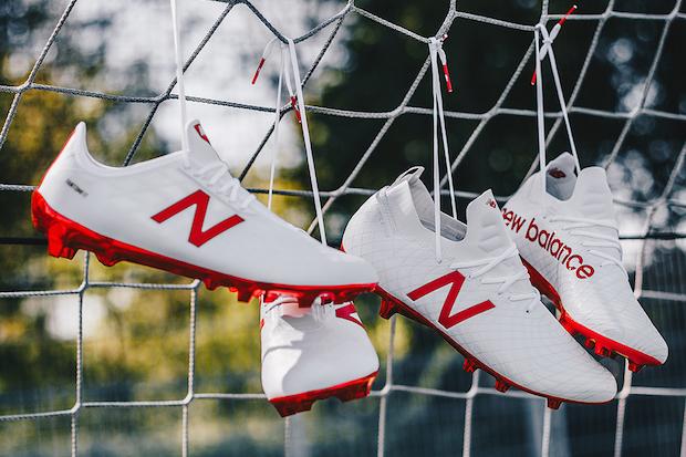 New Balance Ostruka Pack, en rouge et blanc