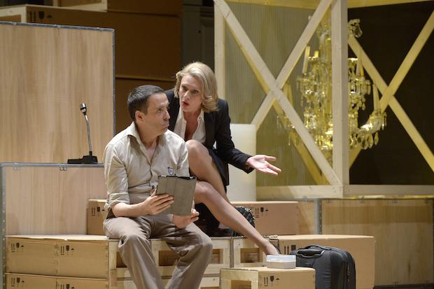 avare theatre odeon avis critique ludovic lagarde