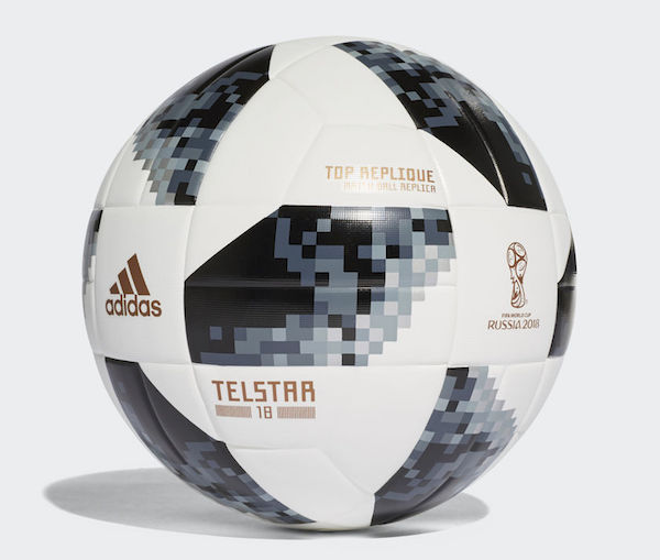 ballon coupe du monde 2018 replica noir