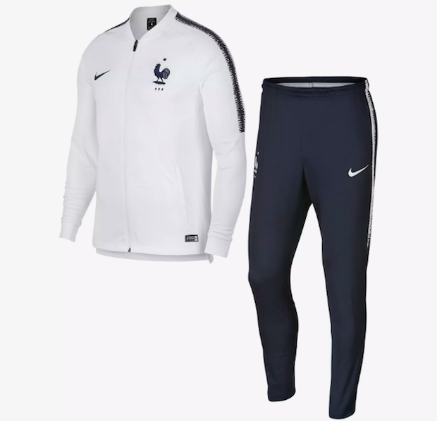 kit supporter equipe de france 2018 survet