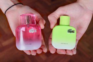 parfum lacoste eau fraiche l 12 12 pour elle pour lui