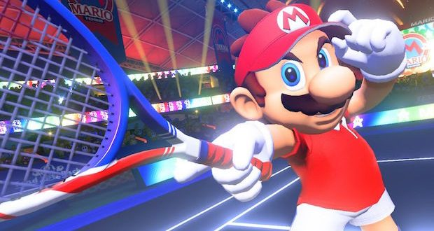 test mario tennis aces switch nintendo avis