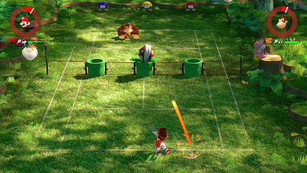 test mario tennis aces switch nintendo avis donkey