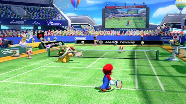 test mario tennis aces switch nintendo avis pelouse