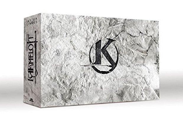 Coffret kaamelott integral bluray dvd les six livres