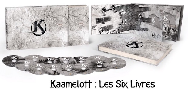 Coffret kaamelott integral bluray dvd