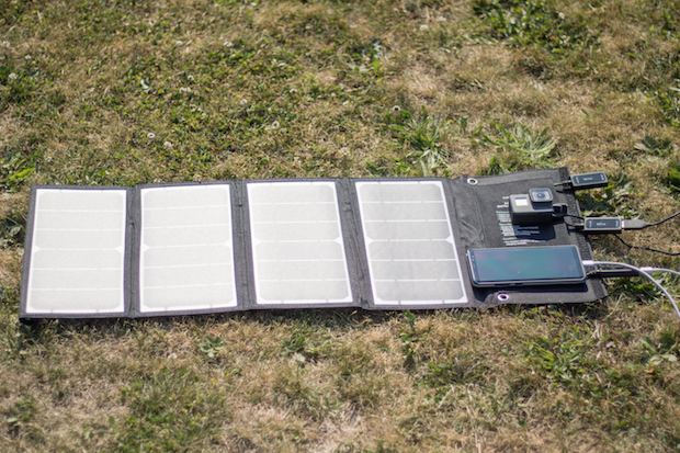 chargeur solaire usb test avis photovoltaique