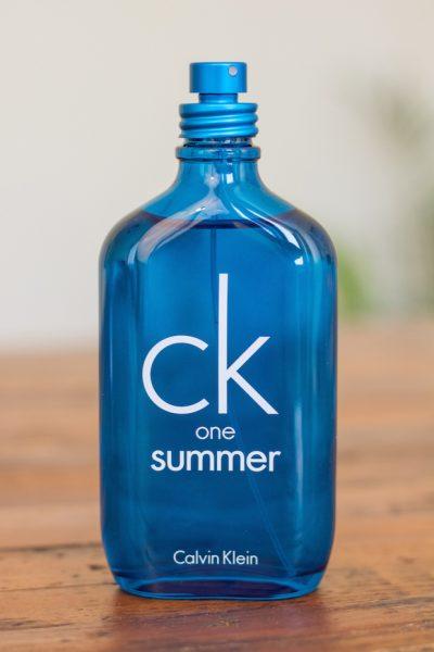 ck one summer avis test parfum