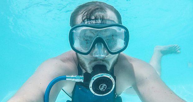 minidive test avis bouteille de plonge 30
