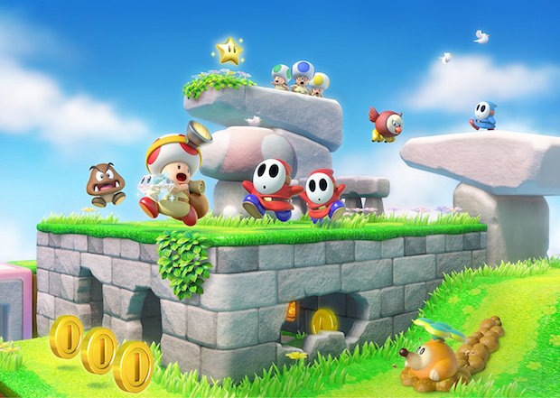 test Captain Toad Treasure Tracker switch nintendo 4