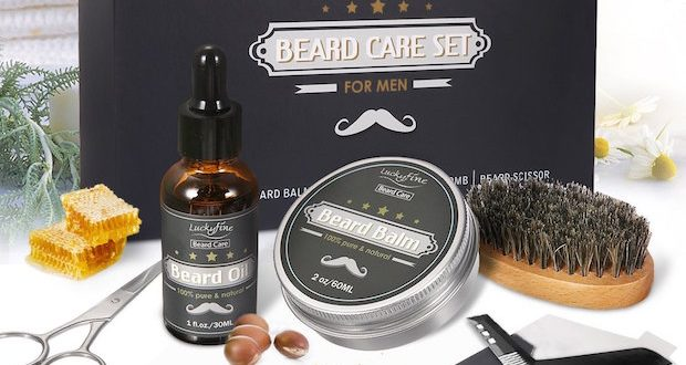coffret barbe kit barbu cadeau