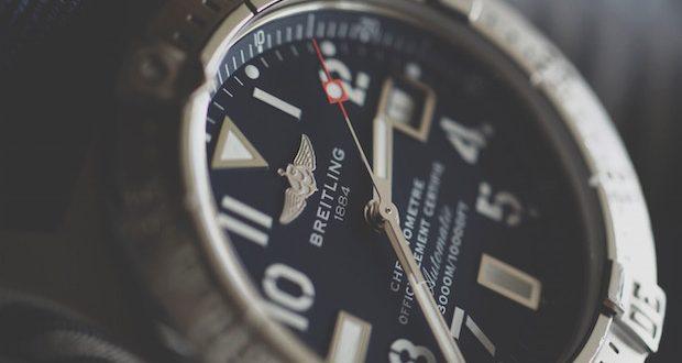 Breitling : la marque de montre homme qui séduit les professionnels